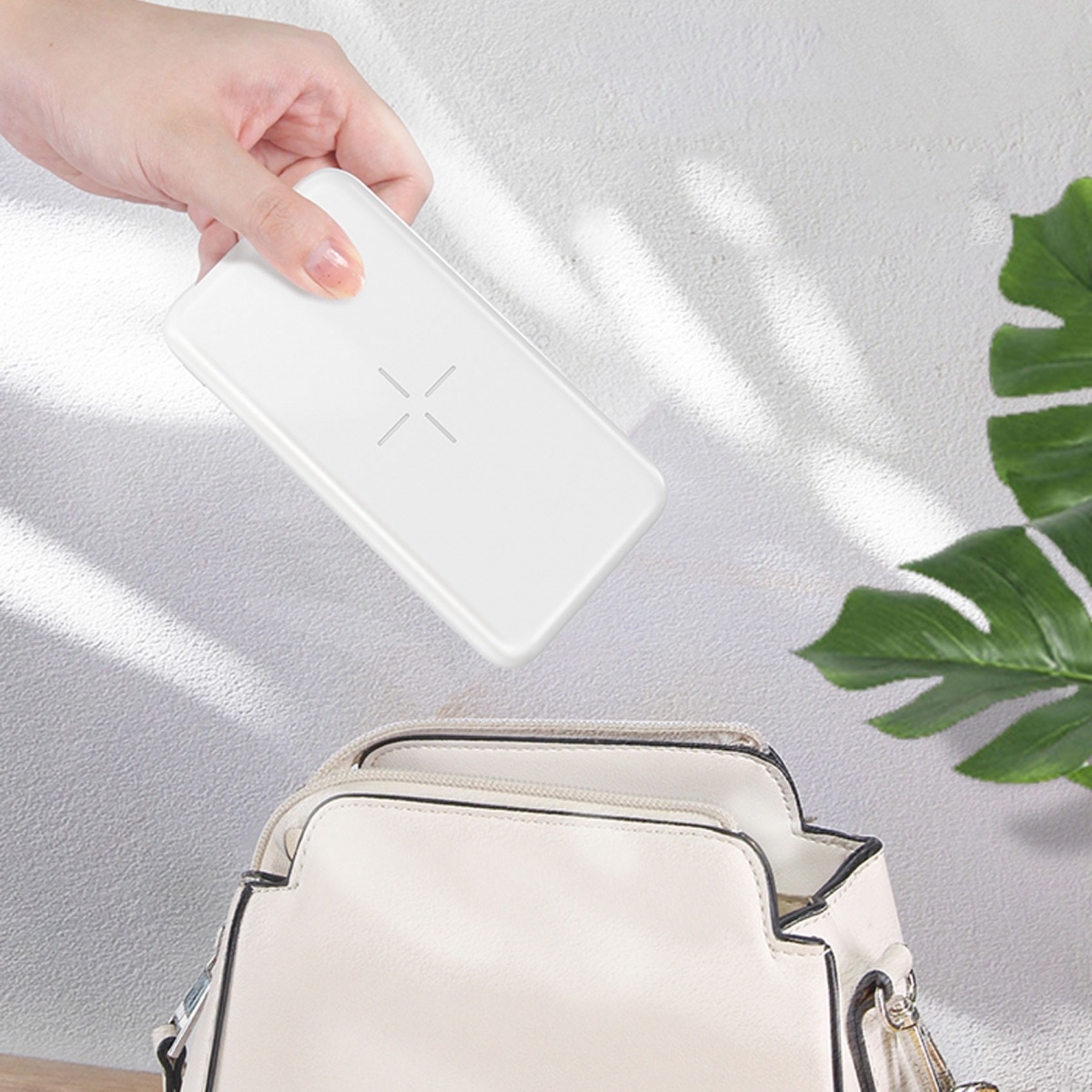 Yoobao W10 Wireless Power Bank - White