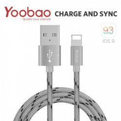 Yoobao 1.5 Meter Lightning Charging Sync Cable - Gray