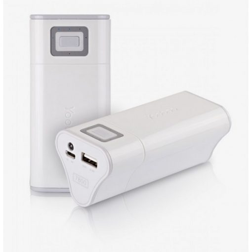 Yoobao Sunrise 6600mAh Power Bank  YB-631 - White