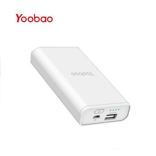 Yoobao Power Bank 7800mAh YB-6003 - White