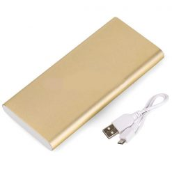 Yoobao PL8 8000mAh DC5V 2.1A Dual Inputs Power Bank - Gold