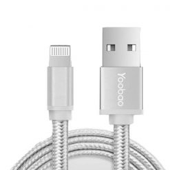 Yoobao Lightning Sync Cable  - Silver