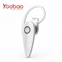 YOOBAO YBL103 2 Channel Stereo Bluetooth Headset With Noise Cancelling - White