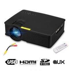 ZBIO28 1000 Lumens Multimedia LED Projector - Black
