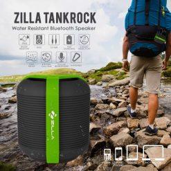 Zilla Tankrock Water Resistant Bluetooth Speaker - Black