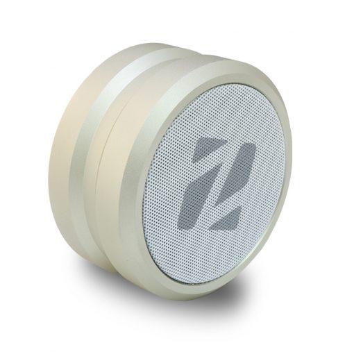 Zilla IPX 5 Water Resistant Metal Finish Hi Bass Portable Bluetooth Speaker - Lemon Yellow