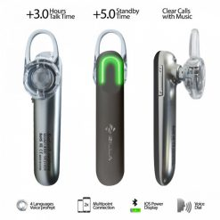Zilla LB300 Smart Bluetooth Headset - Black