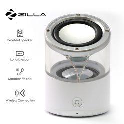 Zilla I3 Transparent TWS Bluetooth Mini Speaker - White