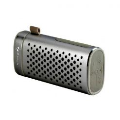 Zilla Portable Bluetooth Speaker With 4000 mAh Power Bank - Black