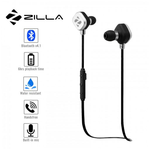 Zilla Sports Bluetooth 4.1 Headset - Black
