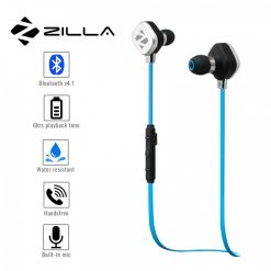 Zilla Sports Bluetooth 4.1 Headset - Blue