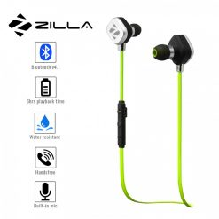 Zilla Sports Bluetooth 4.1 Headset - Green