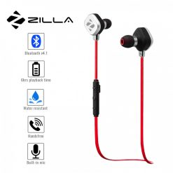 Zilla Sports Bluetooth 4.1 Headset - Red