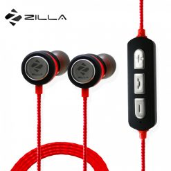 Zilla BZ-01 Super Bass  Magnetic Wireless Sports Headset - Red