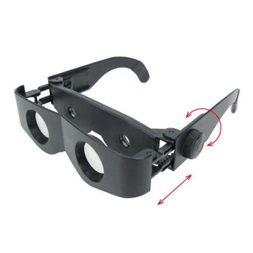 Zoomies Binocular Sunglasses - Black
