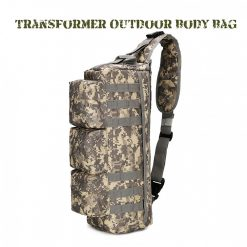 Transformer Outdoor Military Tactical Body Bag - ACU Camouflage