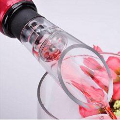 Wine Decanting Pourer & Vacuum Wine Bottle Stopper