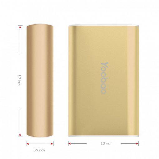 Yoobao Master Power Bank 7800mAh M3 - Gold