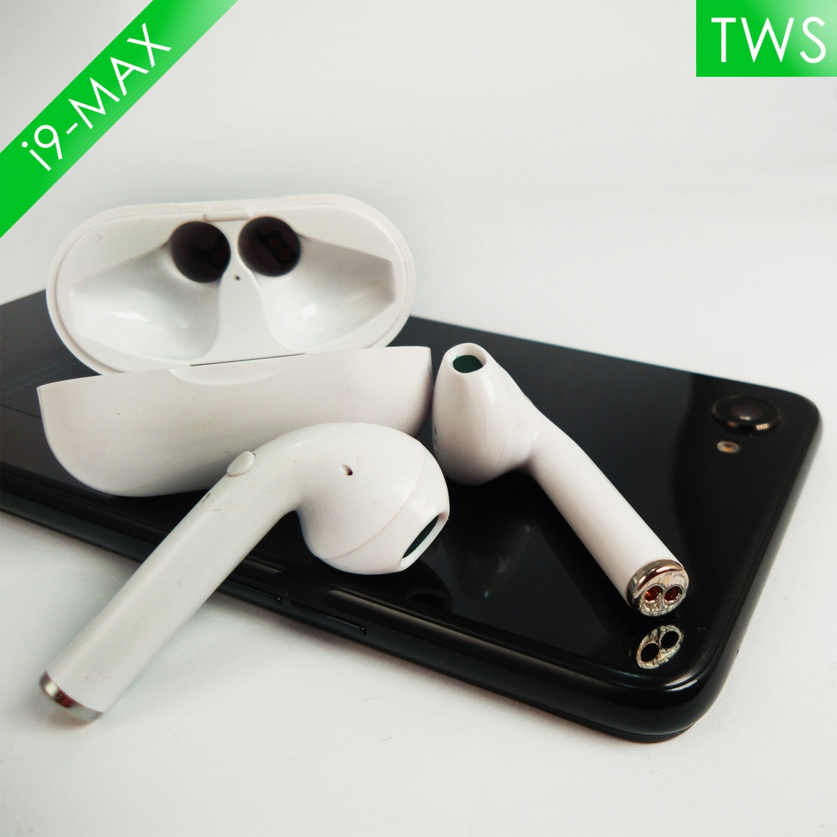 i9-Max TWS Wireless Earphone - White