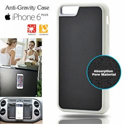 Stick Anywhere Micro Suction Anti Gravity Case For Iphone 6 Plus - White