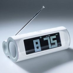 Travel Radio With Alarm Clock and Speaker