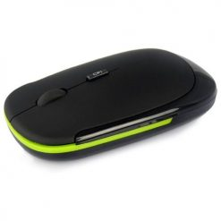 USB Wireless Optical Mouse for Laptop PC Notebook - Green