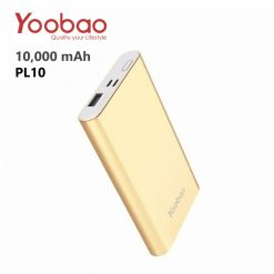 Yoobao PL10 10000 mah Polymer Power Bank - Gold