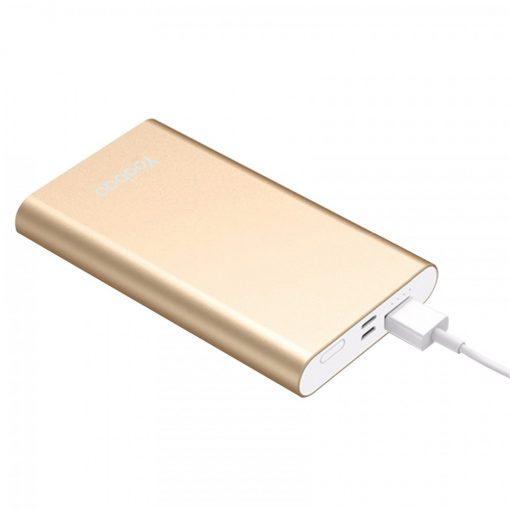 Yoobao PL10 10000 mah Polymer Power Bank - Gold