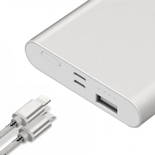 Yoobao PL10 10000 mah Polymer Power Bank - Silver