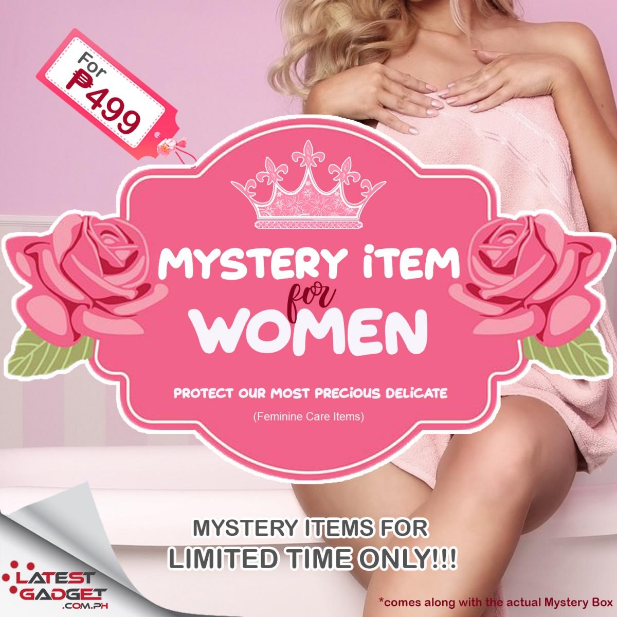 MYSTERY ITEM - FEMININE CARE