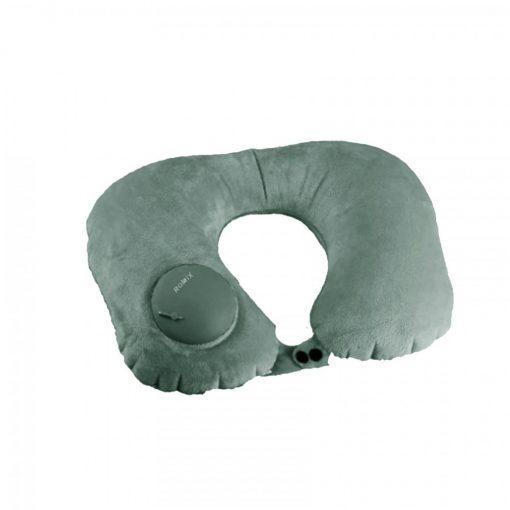 Romix RH50 Portable Travel Neck Pillow - Dark Green