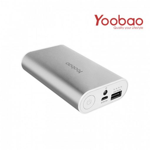 Yoobao Master Power Bank 7800mAh M3 - Silver