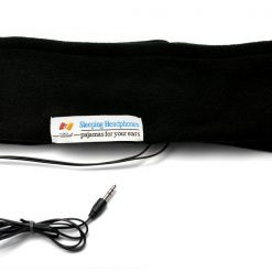 Sleeping Headband With Earphones - Black