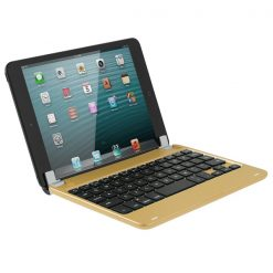 Wireless Bluetooth Keyboard for  IPad Mini - Gold