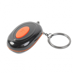 Universal Bluetooth Wireless Safety Alarm For Smartphone - Black