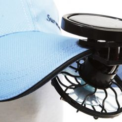 Solar Mini Clip Fan For Cap and Hats