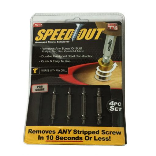 Speed Out Damaged Screw Or Bolt Extractor