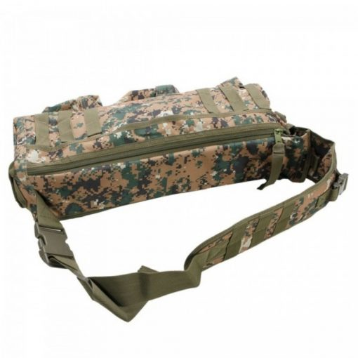 Transformer Outdoor Military Tactical Body Bag - Digital Camouflage
