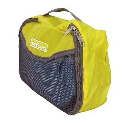 Travel Check Luggage Organizer Bag – Yellow
