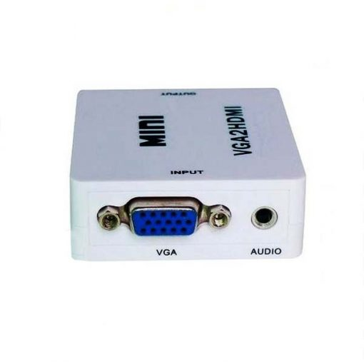 VGA To HDMI Video Converter - White