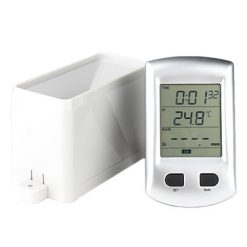 Wireless Rain Gauge Measurement with Temperature