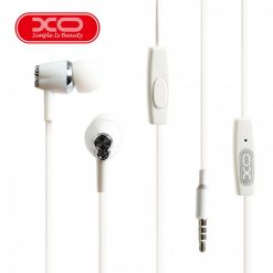 XO S26 In Ear Earphone With Microphone - White