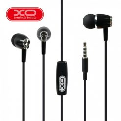 XO S26 In Ear Earphone With Microphone - Black