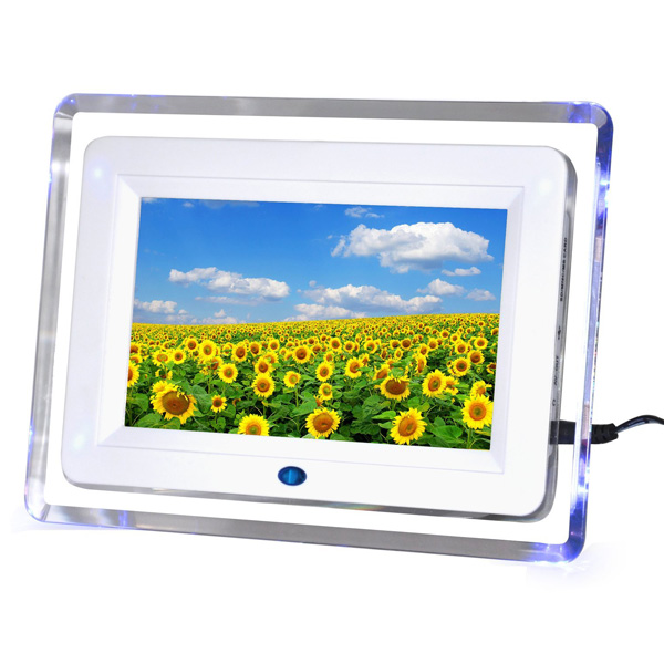 7 inch TFT LCD Wide Screen Desktop Digital Photo Frame