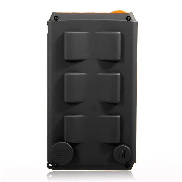 11200 mah Solar Powerbank for Laptop Tablets and Mobile Phones - Black