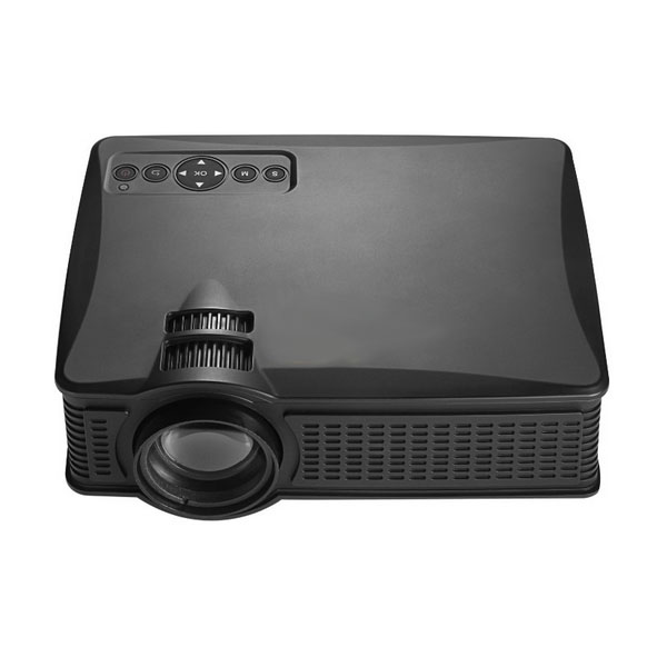 1500 Lumens LED Projector - Black