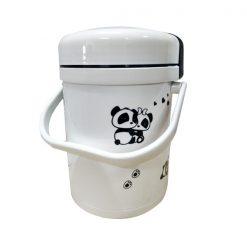 1 Liter Electric Karodo Rice Cooker - White