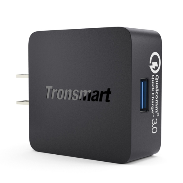 Tronsmart WC1T 18W USB Quick Charge 3.0 Charger - Black