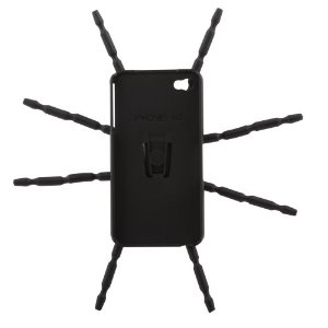 Spider Pod For Camera iPhone 4/4s - Black