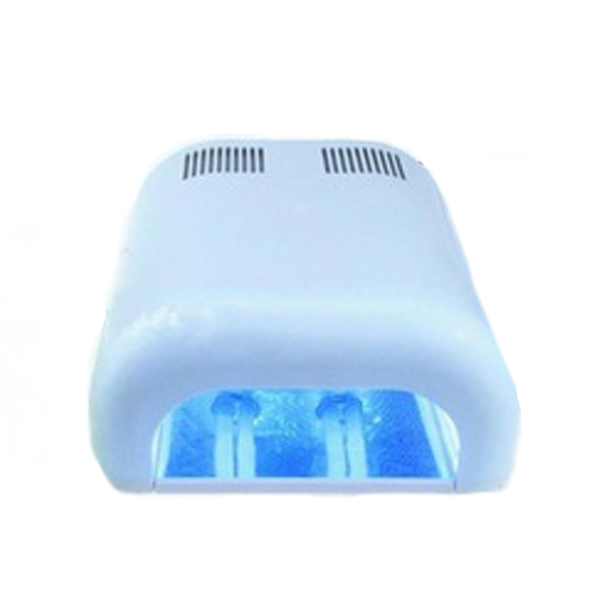 36 Watt Gel Curing UV Lamp - White